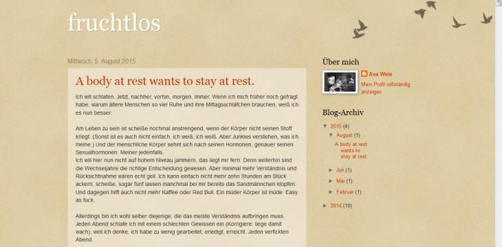 Schreenshot_Blog