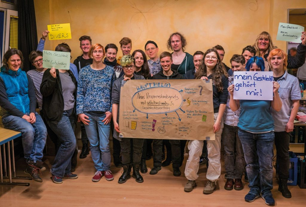 Gruppenfoto - Quelle Aktion Standesamt 2018