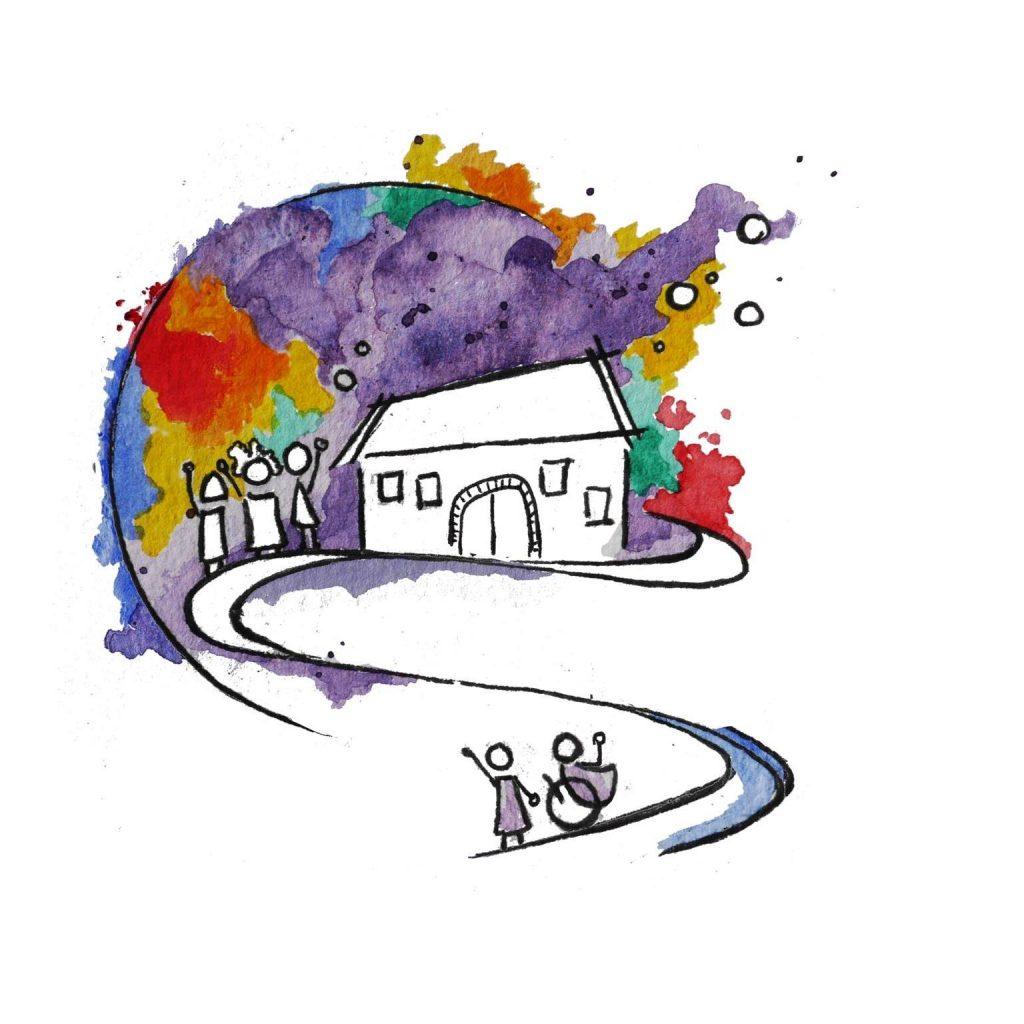 lila_bunt Logo von Clara Escalera